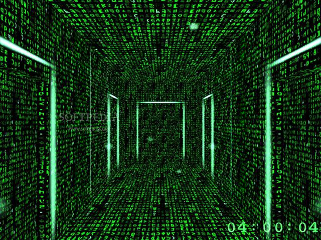 3D-Matrix-Screensaver-the-Endless-Corridors_2